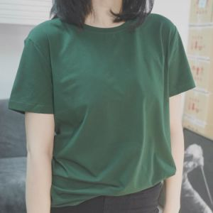 c37fd5ad8c73 China Solid Color Round Neck Women′s T-Shirts - China T-Shirt
