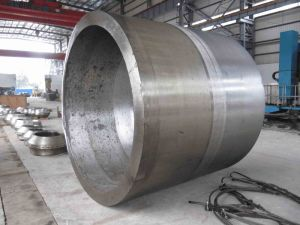 Hot Forged Stainless Steel Cylinder of Material A182 F11 Used for Pressure Vessel