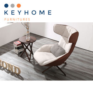 China Living Room Sofa Chair Arm Chair with Swivel Leg - China ...