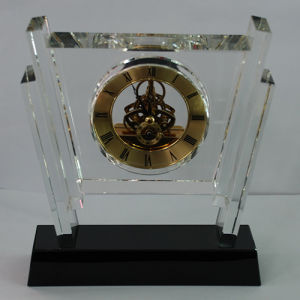 Manager Office Room Decoration Big Crystal Clock pictures & photos