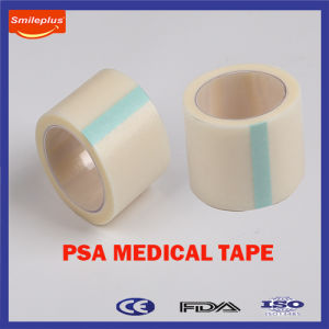 Hypoallergenic and Good Primary Adhesive Psa Medical Paper Tape pictures & photos