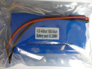 14.4V 4400mAh 18650 Lithium Battery Pack