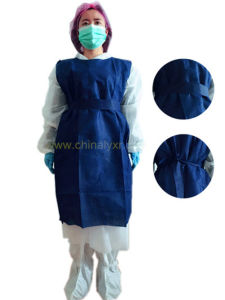 Nonwoven Sleeveless Surgical Gown//Surgical Suit Nonwoven pictures & photos