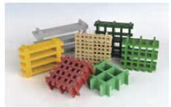 FRP Mould Gratings with Grid pictures & photos