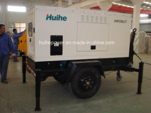 Diesel Generator with Canopy (Trailer Type)