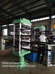 Qishengyuan Made Ce Certification Rubber Tile Vulcanizing Press / Rubber Tile (molding) Making Machine pictures & photos