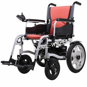 Easy Folding Power Wheelchair for Disabled and Old People (PW-004) pictures & photos