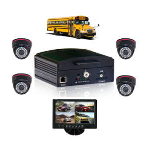 4 Channel 3G Mobile DVR Car DVR System for Bus Truck, Support 1tb HDD and 128GB SD Card to Storage pictures & photos