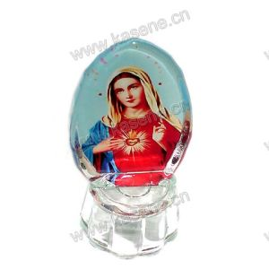 Wholesale Religious Cheap Crystal 3D Model Gift and Craft