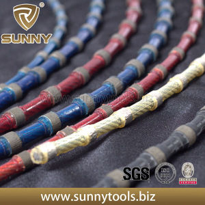 Spring Connection Quarry Cutting Diamond Wire Saw for Marble pictures & photos
