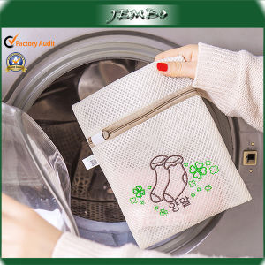 Zipper Closure Small Mesh Laundry Bag for Socks pictures & photos