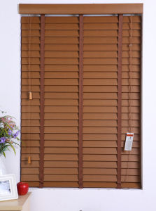 Waterproof Faux Wood Blinds for High Humidity Interior Place Decor pictures & photos