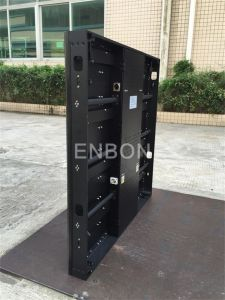 P7.62 Slim Aluminum Rental Portable LED video Wall Display for Event, Stage pictures & photos