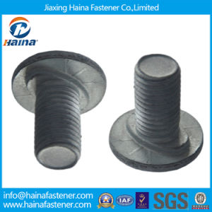 Hot DIP Galvanized Highway Guardrail Bolts, Carbon Steel 4.8/8.8 Grade Guardrail Splice Bolts pictures & photos