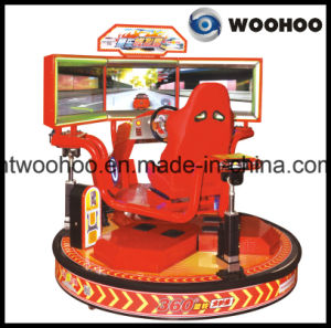 Coin Operated Machine 32′′ Q5 The Intelligent Racing Car Game Simulator Equipment