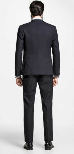 Slim Fit Coat Pant Business Men Suit pictures & photos