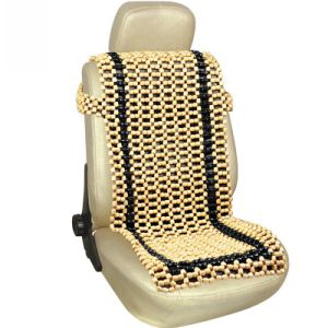 Loose Wooden Bead Seat Cushion Auto Cover
