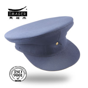 Blue Custom-Made Plain Army Cap pictures & photos