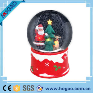 Christmas Deco Snowman Inside Resin Snow Globe pictures & photos