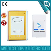 Original Manufactory Supply 32 Melodies Remote Control Wireless Portable Doorbell