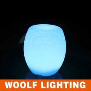 Outdoor Glowing Waterproof LED Drum Chair