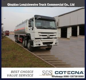 HOWO 30000L Tanker Truck HOWO 8X4 Fuel Tank Truck pictures & photos
