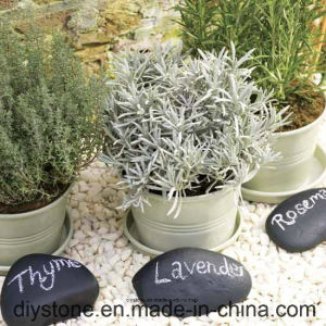 Cobblestone Memorial Stone for Cherish and Valentine′s Day Gift pictures & photos