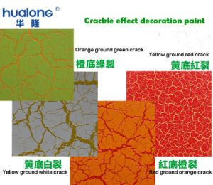 Hualong Red Primer for Crackle Effect Paint pictures & photos