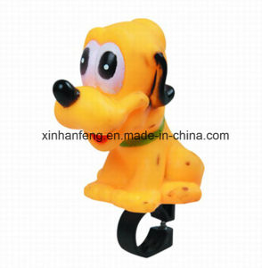 Bicycle PVC Cartoon Dog (HEL-150) pictures & photos