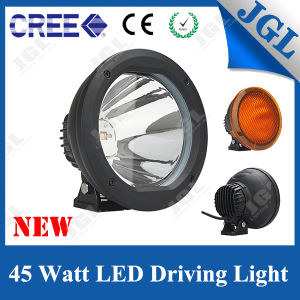 Waterproof IP67 45W LED Auto Car Driving Light for Offroad