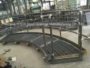 Customized Steel Grating Platform for Industrial Project