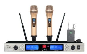 Sales Promotion, Professional Wireless Microphone K Series K840