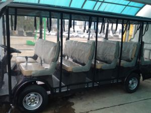 Lanscape 14 Seater Electric Sightseeing Car with CE Certificate Made by Dongfeng