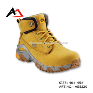 Leather Safety Shoes Rubber Boots for Men Shoe (AKAS5220) pictures & photos