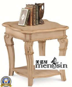 Menosin Antique Wood Home Furniture Coffee End Table