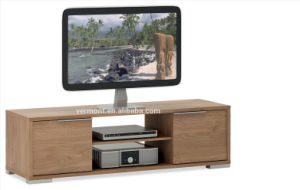 2016 Modern Wood TV Stand with Latest Design (VT-WT003)
