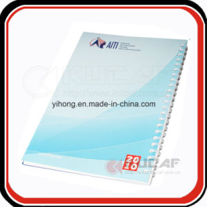 Custom Promotional Gift Wire O Binding Soft Cover Weekly Planner pictures & photos