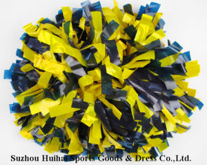 Wet Look POM Poms: 2 Colors Mix pictures & photos