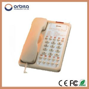 Factory Price Hotel Telephone Guestroom Telephone Mini Wired Telephone pictures & photos