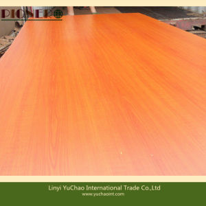 Cherry Color Melamine Faced MDF for Kenya Market pictures & photos