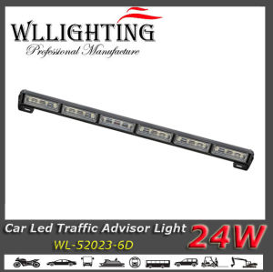 "27"" Auto Traffic Advisor Lightbar with Linear Lens"