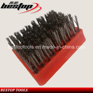 L105mm Horseshoe Shaped Steel Wire Brush pictures & photos