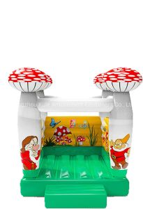 Inflatable Bouncer Mushroom Jumping Castle with Small Size