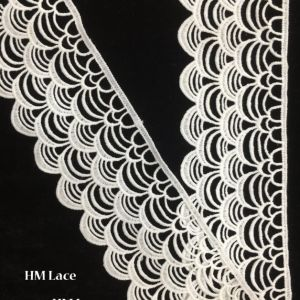 7cm Crocheted Lace Trim DIY Craft Ribbon, Scallop Edge Thick Quality Customized Trimming Lace Hmhb1115 pictures & photos