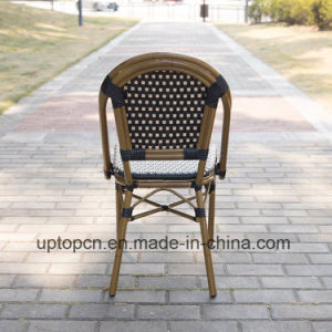 Outdoor Aluminum Rattan French Bistro Chairs (SP OC429)