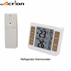 Wireless Indoor Outdoor Freenzer Fridge Thermometer with 2 Sensors pictures & photos