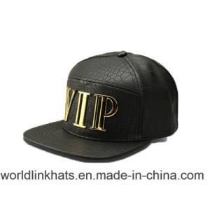 China Metal 3D Logo Gold Plate Metal Badge Logo Snapback Caps ... df725b36cfa4