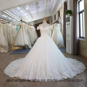 China 2017 Princess Ball Gown Sweetheart Neck Lace Wedding Dress China Ball Gown And Bridal Dress Price