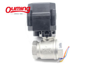 Motorized Dn 25 12 V Ss 304 Motorized Ball Valve