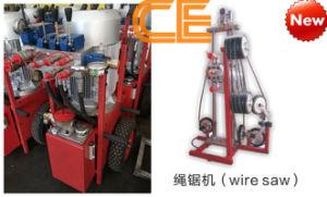 China Hydraulic Diamond Wire Saw Machine to Cut Concrete Stone Rock ...
